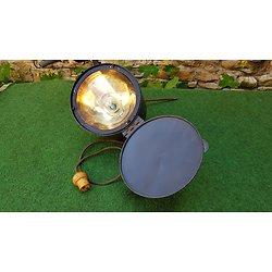 Rare lampe / projecteur de campagne français ww1 signaleur 14cm