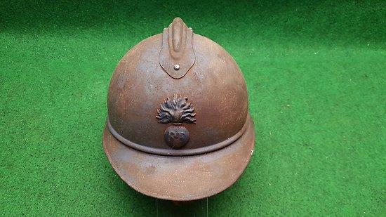 WW1 Casque français adrian M15 infanterie 14-18