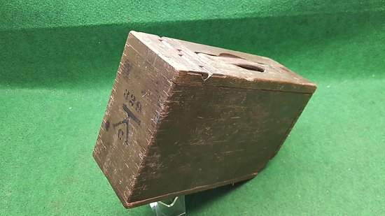 Caisse de munitions  US ww1 mitrailleuse BROWNING 1917 cal 30