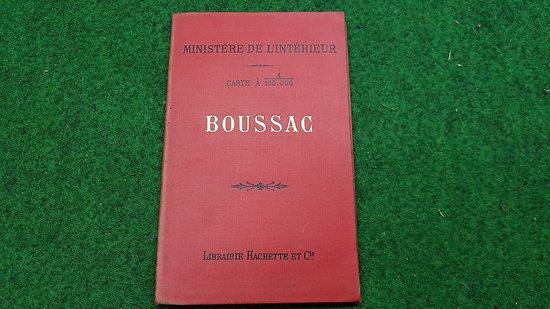 Carte d état major au 1/1000 eme (BOUSSAC )