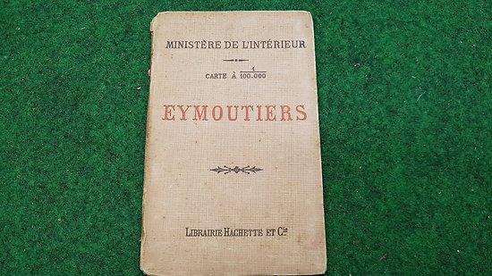Carte d état major au 1/1000 eme ( EYMOUTIERS)