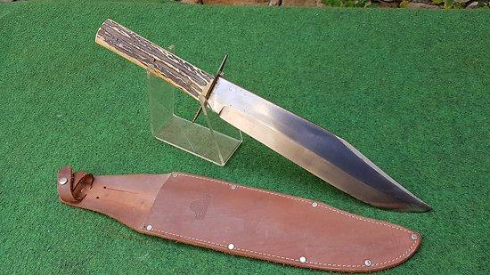 Énorme couteau bowie HUBERTUS solingen
