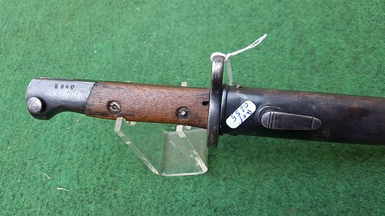 Baïonnette mauser portugais VERGUEIRO M1904
