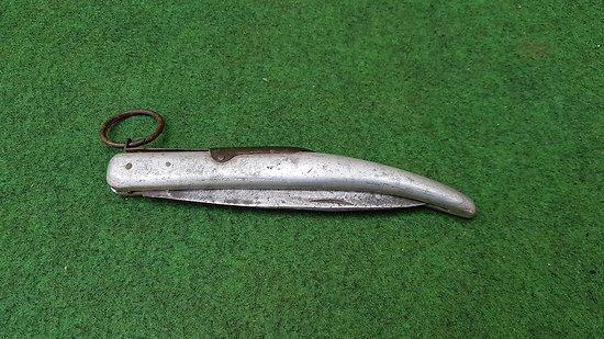 Couteau de tranchée français 1914 - 1915 en alu ersatz