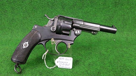 Revolver 1874 civil cal 11mm cat D-e