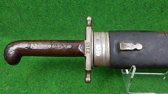 Glaive pionnier Autrichien M1853