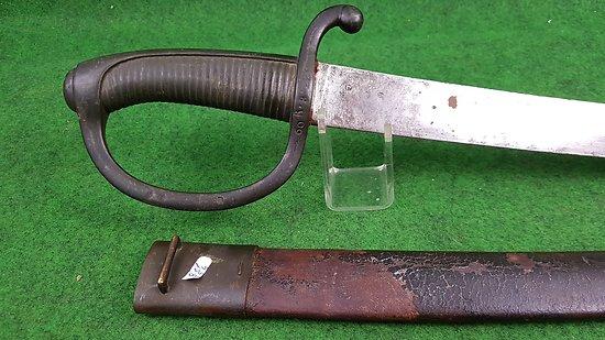 Sabre briquet AN-11 daté 1814