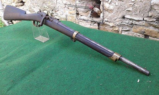 mousqueton d artillerie chassepot