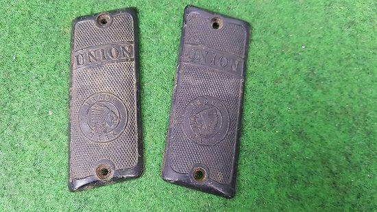 Plaquettes pistolet UNION 6.35