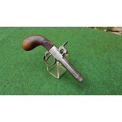 Mécanisme de pistolet canne fusil vers 1850