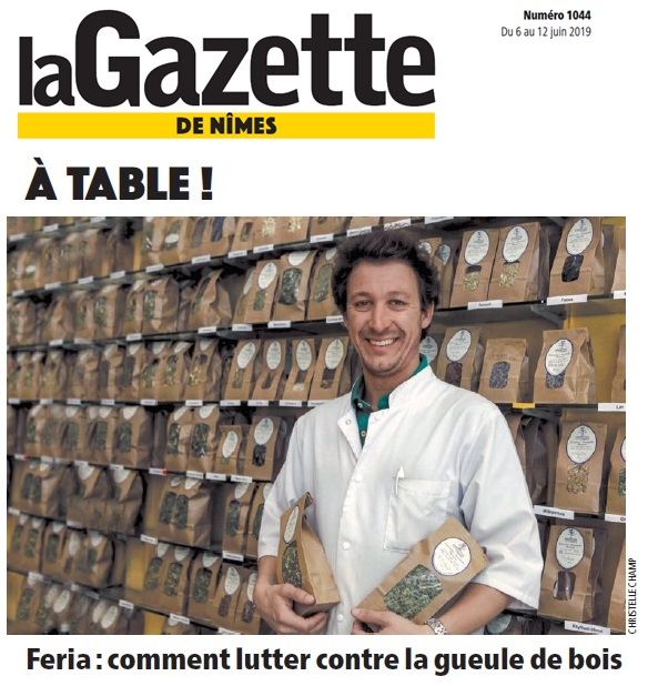 Les remèdes du Docteur Sammut permettent de faire à tous types de maux - Gazette de Nîmes - Art 1044 - Herboristerie du Docteur Sammut