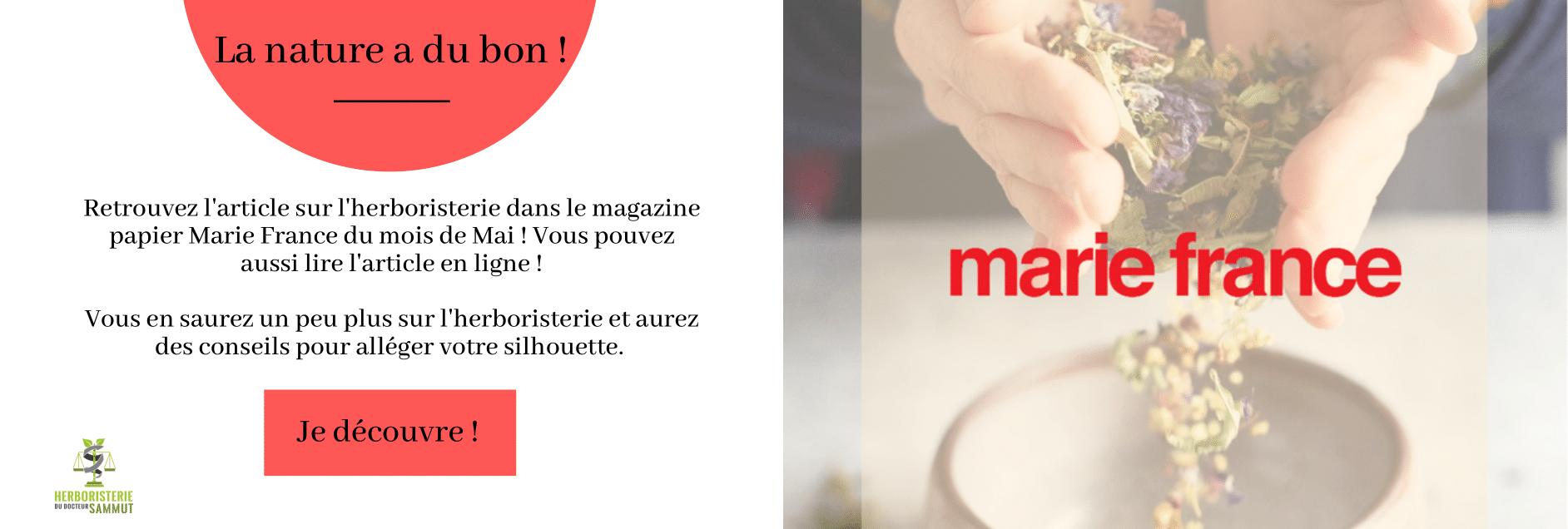 Parution presse Marie France Mai 2021