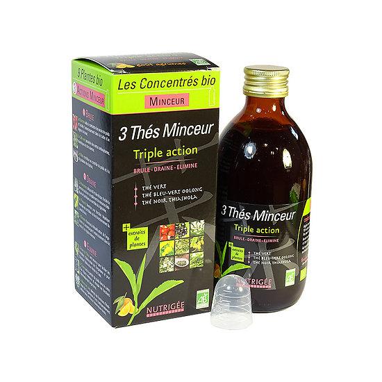 3 thés minceur BIO - Nutrigée
