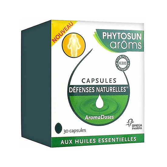 Capsules defenses naturelles - phytosun aroms