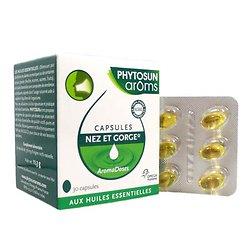 Capsules nez & gorge - phytosun aroms