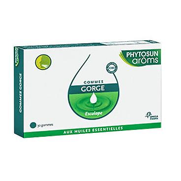 Gommes gorge - phytosun aroms
