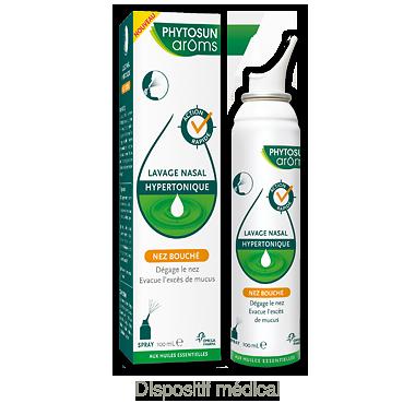 Lavage nasal hypertonique - phytosun aroms