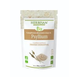 Psyllium poudre BIO - Herbesan - 200g