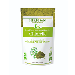 Chlorelle poudre BIO - Herbesan - 200g