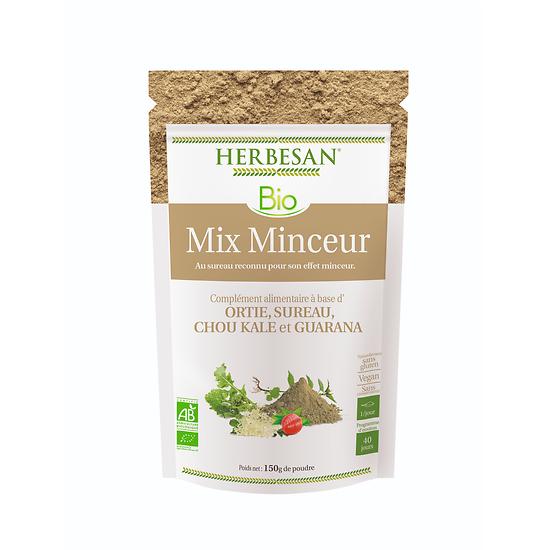 Mix Minceur poudre BIO - Herbesan - 200g