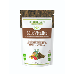 Mix Vitalité poudre BIO - Herbesan - 200g