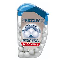 Ricqlès - Pastilles dragées - Réglisse Menthe