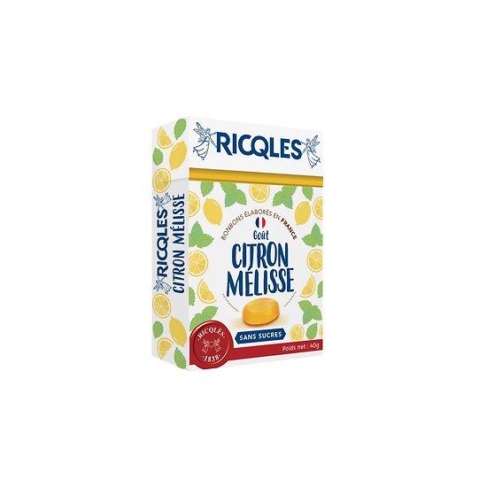 Ricqlès - Bonbons Sans Sucres - Citron Mélisse