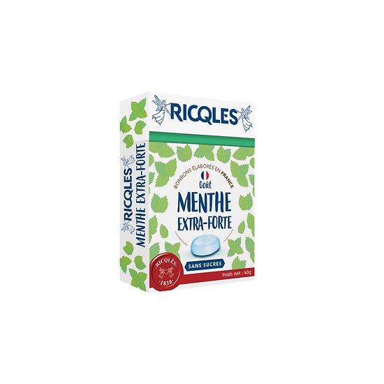 Ricqlès - Bonbons Sans Sucres - Menthe Extra-Forte