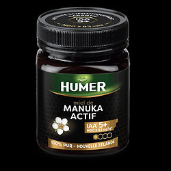 Miel de Manuka actif IAA 5+ - 250g - Herboristerie du Dr. Sammut