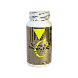 Vitamine C complexe 1000 - 60cps - Vitall +
