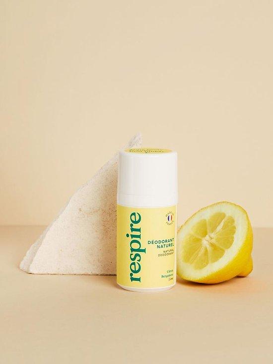 Déodorant Respire Citron & Bergamote