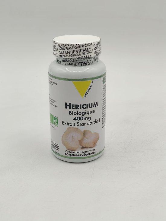Hericium BIO Extrait standardisé 400 mg de VIT'ALL +