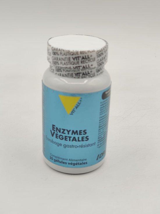 Enzymes Végétales Bio - 30 gélules végétales - Vit'all+