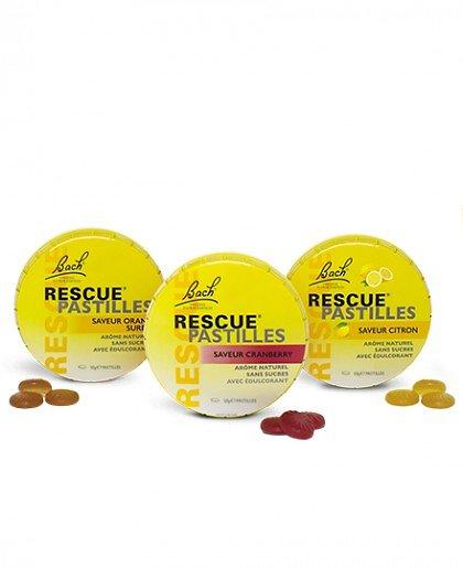 Rescue pastille citron - Fleurs de Bach - 50g