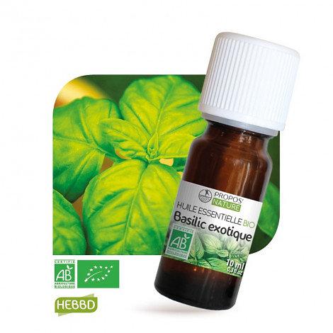 Basilic Exotique BIO - Huile Essentielle - Propos nature - 10ml