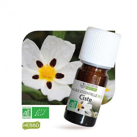 Ciste BIO - Huile Essentielle - Propos nature -5ml