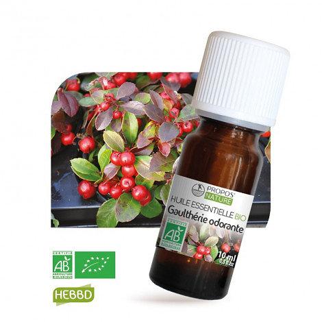 Gaulthérie odorante BIO - Huile Essentielle - Propos nature - 10ml