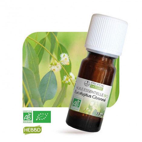 Eucalyptus citronné BIO - Huile Essentielle - Propos nature - 10ml