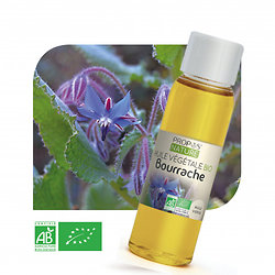 Bourrache BIO - Huile végétale vierge (100ml)