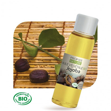 Jojoba BIO - Huile végétale vierge (100ml)