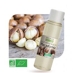 Macadamia BIO - Huile végétale vierge (100ml)