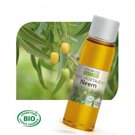 Neem BIO - Huile végétale vierge (100ml)