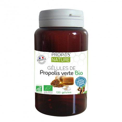 Gélules de Propolis verte BIO (60 Gélules)