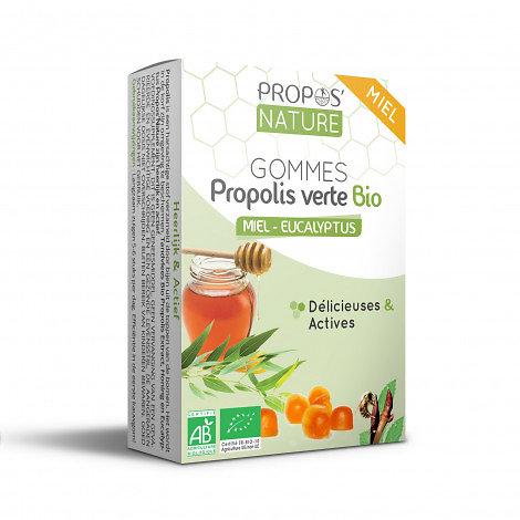 Gommes Miel & Propolis verte BIO - Eucalyptus