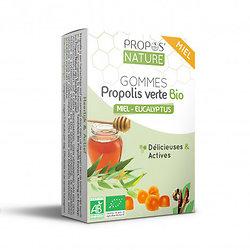Gommes Miel & Propolis verte BIO -Eucalyptus