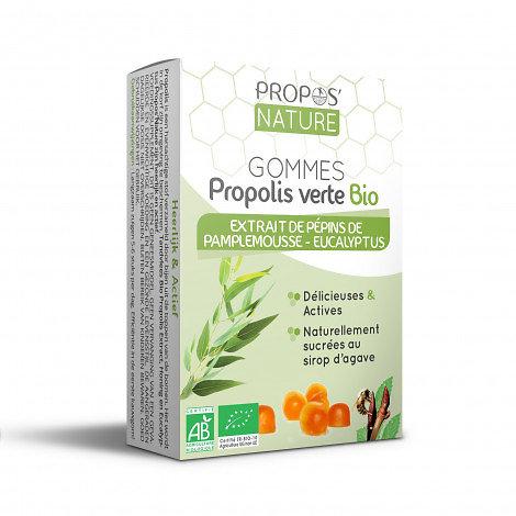 Gommes Epp & Propolis Verte BIO - Eucalyptus