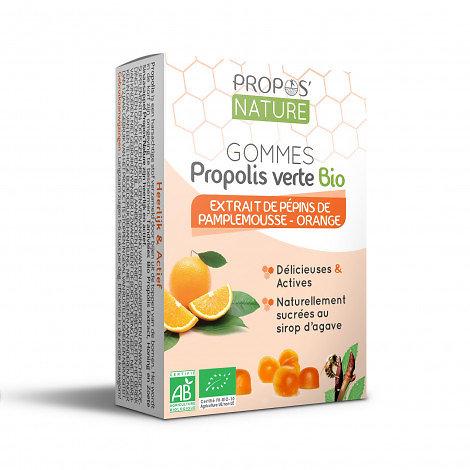 Gommes Epp & Propolis Verte BIO - Orange