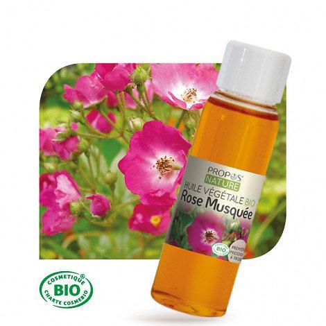 Rose musquée BIO - Huile végétale vierge