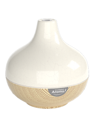 Diffuseur Rakku - blanc et bois - Comptoire aroma