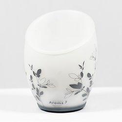 Diffuseur d'arôme - blanc et fleurs